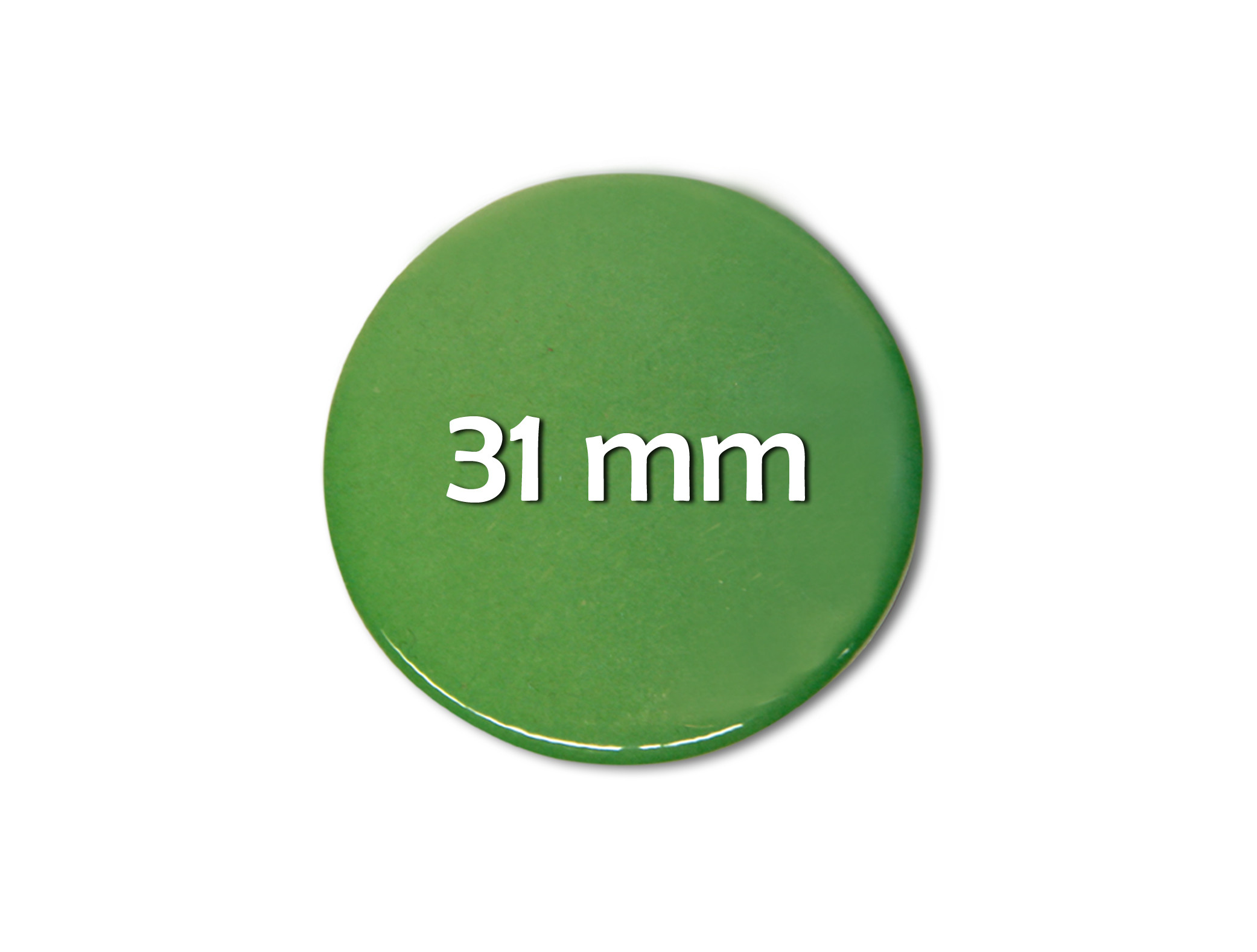 31mm Fertigbutton