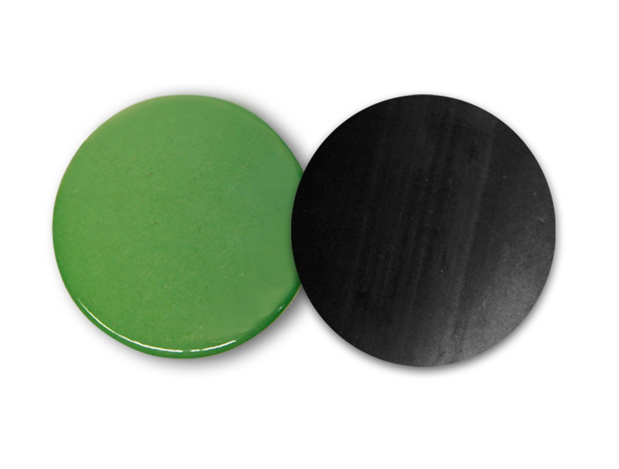 24mm Fertigbutton mit Klebemagnet