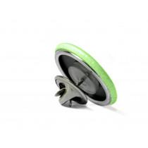 70x45mm Oval Fertigbutton mit Schmetterlingverschluss