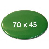 70x45mm ovaler Fertigbutton