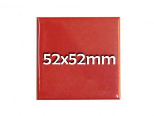 52x52mm quadratischer Fertigbutton